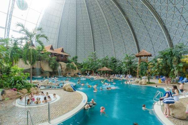 Аквапарк в Берлине Tropical Islands  крупнейший крытый аквапарк в мире