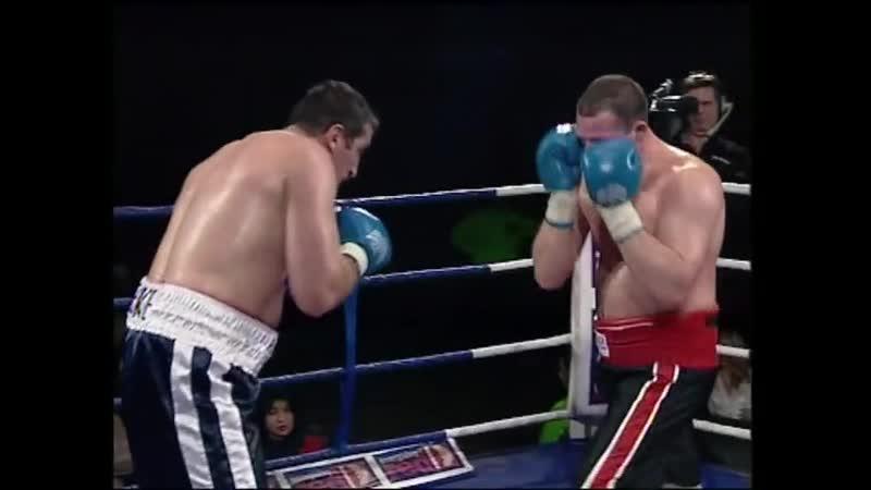 George Kandelaki vs Derek McCafferty 18 December 1999 year England