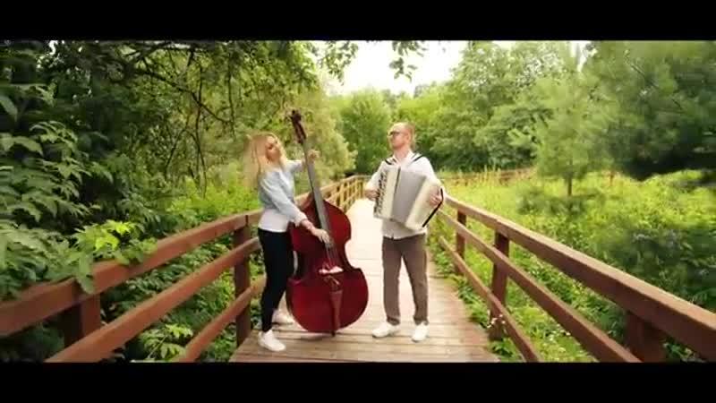 Эдуард Аханов и Дарья Шорр - Джаз-вальс _Eduard Akhanov - Jazz waltz [баянист, a