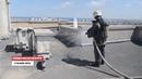 Севастопольские спасатели тренировались тушить высотку