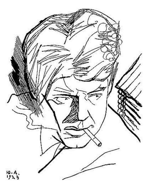 ЮРИЙ АННЕНКОВ - ПОРТРЕТИСТ СЕРЕБРЯНОГО ВЕКА Юрий Анненков живописец, график, художник-авангардист. Героями его работ становились культовые фигуры Серебряного века, они же появлялись на страницах