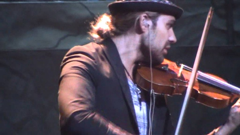 David Garrett Rock Symphonies Tour 2011 - Hungarian Dance No 2 07.06.11 Oberhausen