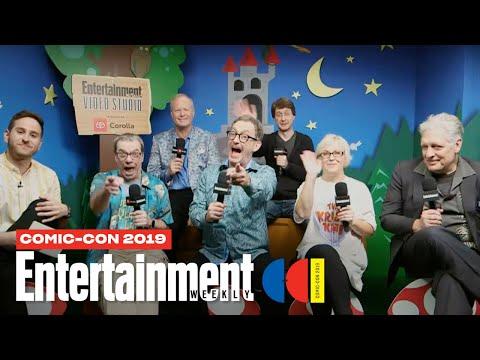 'Spongebob Squarepants' Stars Tom Kenny, Clancy Brown Cast LIVE | SDCC 2019 | Entertainment Weekly