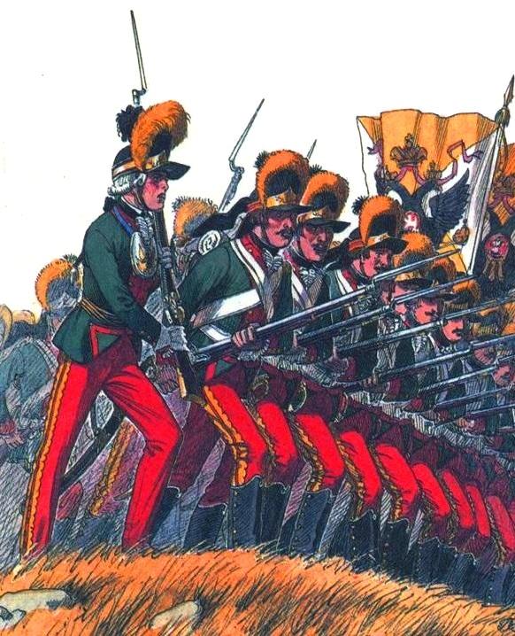 картинки русская пехота это
