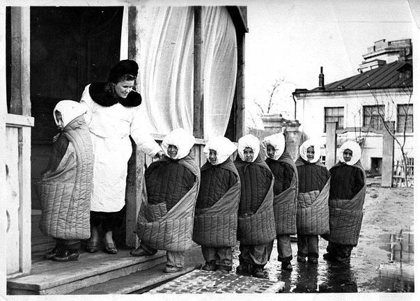 Туберкулёзный санаторий, СССР, 1949 г.