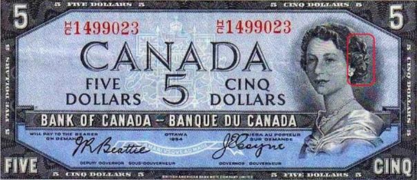 КУПЮРА ДЬЯВОЛЬСКАЯ ГОЛОВА. НЕСЧАСТЛИВЫЕ ДЕНЬГИ КАНАДСКИХ КАЗИНО Одно время в Канаде ходили деньги, которыми категорически не делались ставки в казино. И дело тут даже не в том, что эти купюры