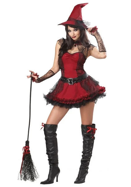 Костюм ведьмы на Хэллоуин своими руками: выкройки, инструкции
