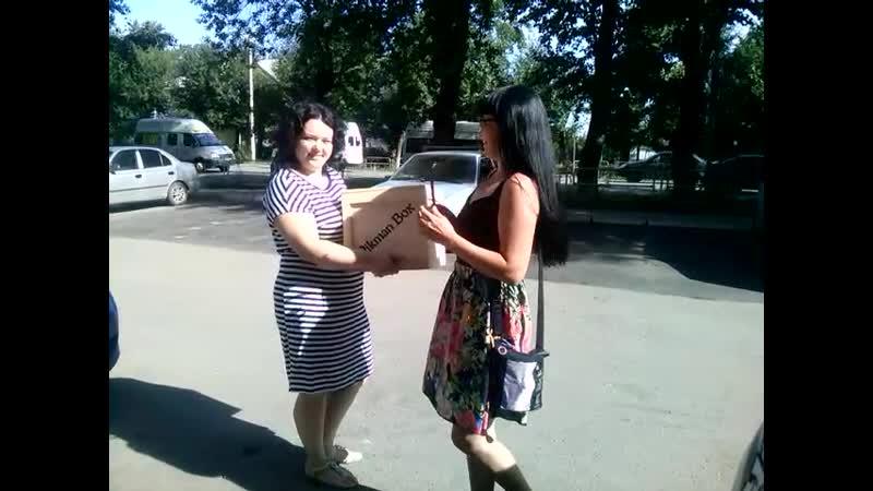 Торжественный момент передачи приза из рук представителя фирмы VIKMAN BOX® в мои! » Freewka.com - Смотреть онлайн в хорощем качестве