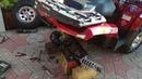 Ремонт Стабилизатора ПУ и Замена Колодок   Polaris Hawkeye 300