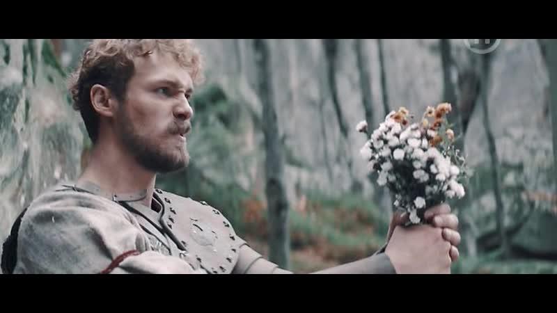 Бой Алёши Поповича с Андак Ханом и его воинами в лесу Знакомство с Витей парнем из будущего из К ф Сторожевая застава