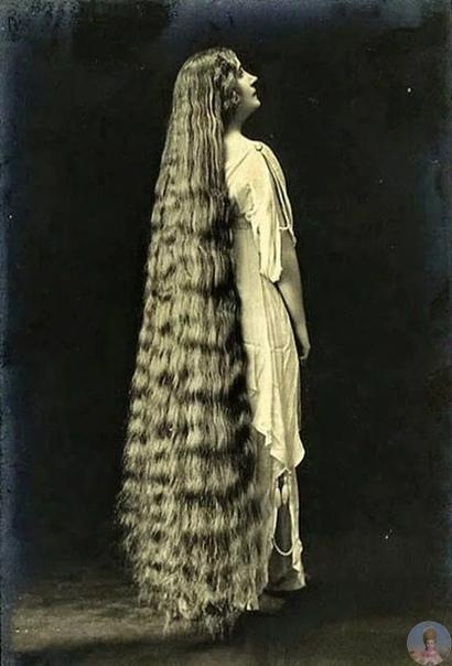 Чарующее обаяние длинноволосых девиц викторианской эпохи