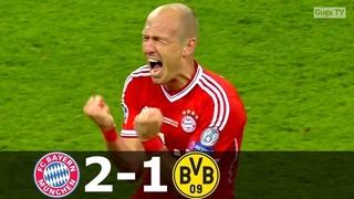Bayern Munich vs Borussia Dortmund 2 1   UCL Final 2013   Highlights English Commentary