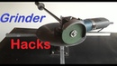 Angle Grinder Hacks Homemade Rotary cutter and Rotary Cutting Table from Angle Grinder