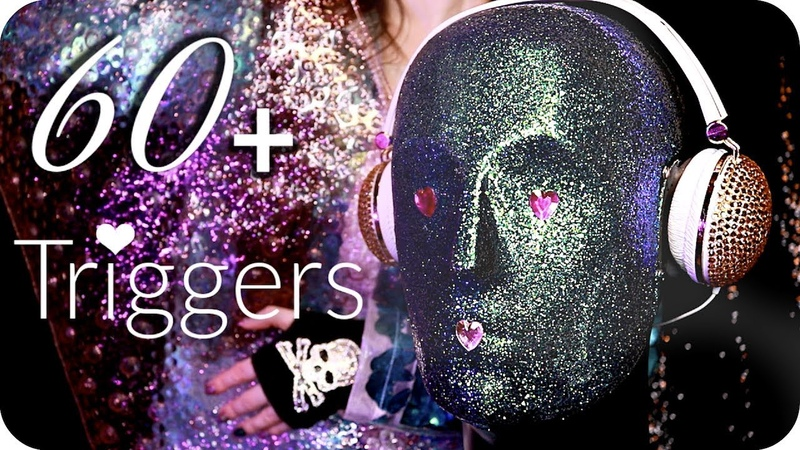 ASMR 60 Triggers over 3.5 Hours ✨ (NO TALKING) Intense Relaxing Ear to Ear Sleep Sounds