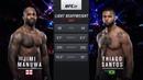 UFC 239 Free Fight: Thiago Santos vs Jimi Manuwa