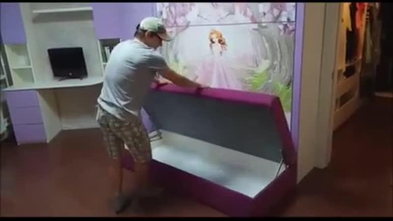 Мебель Индивидуаль | Кровати-трансформеры и другая мебель для детской