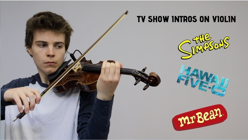 Nostalgic TV Show Intros on Violin