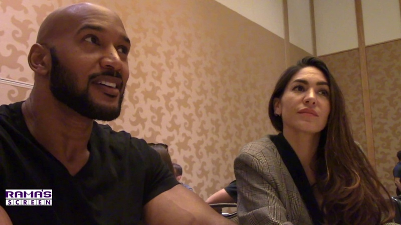 Marvel s AGENTS OF S.H.I.E.L.D Roundtable Henry Simmons and Natalia Cordova Buckley