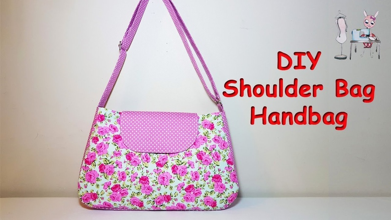 DIY Shoulder bag | Handbag | Coudre un sac | 가방 | バッグ| Bolsa de bricolaje | Sewing Tutorial