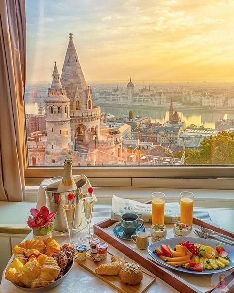 Шикарный вид на Будапешт