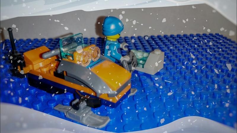 Обзор журнала«Lego City:(Полярный исследователь)»