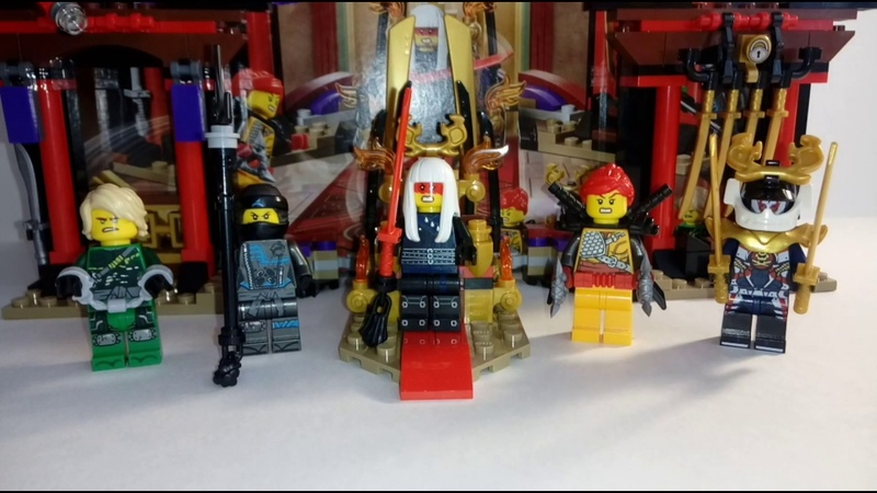 Обзор набора «Lego Ninjago (70651)»