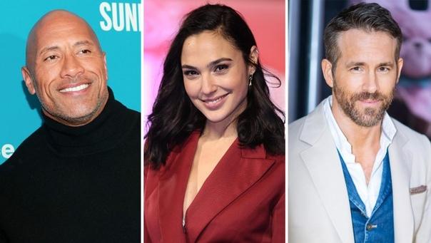 Netflix приостановил производство блокбастера «Красное уведомление» с Дуэйном Джонсоном, Галь Гадот и Райаном Рейнольдсом