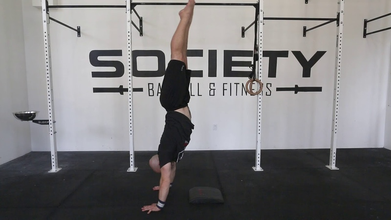 Kick to Handstand Drills with Sean Lind