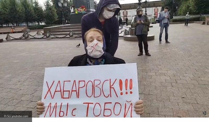 #Оппозиция в седьмой раз использовала бабушку-колясочницу на #незаконной #акции в Москве