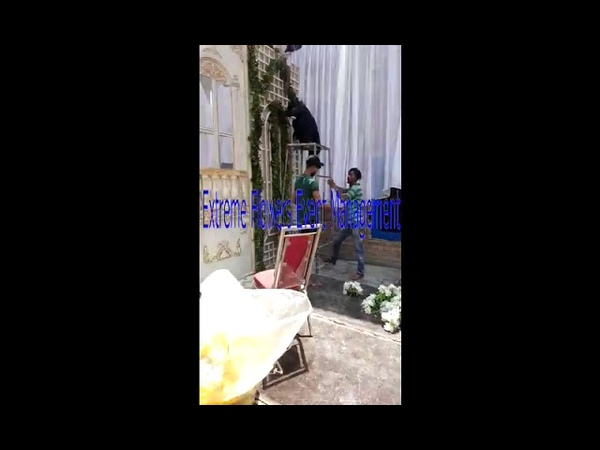 Making of Pillar Decoration Ideas by Extreme Flowers Event Management