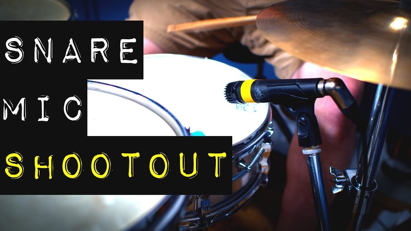 Snare Mic Shootout