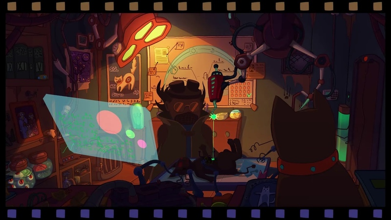 How we're making 2D point and click adventure Mad Cat's World.