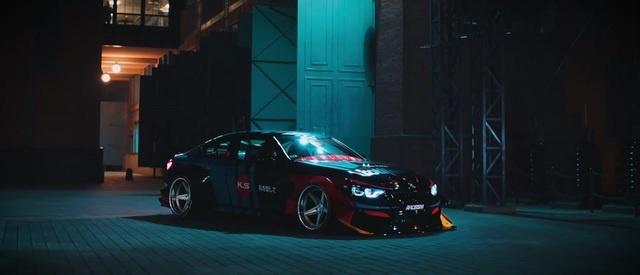 Air Lift Performance - BMW M4 KS design | Idée noire. - distance