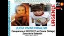 Muerte de Lucía, La niña de 3 años que dicen anduvo 8 Km por las vías de tren