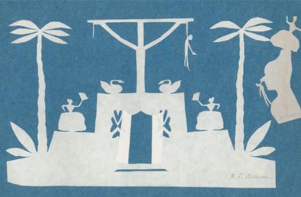 Всемирно известный сказочник Ганс Христиан Андерсен любил на досуге вырезать картины из бумаги