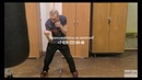 Бокс: гриф для отработки удара снизу (English subs)