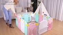 VIDEO Best Baby Play Mats Foldable Baby Playpen REVIEW