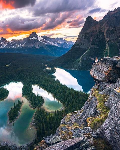 Озеро О'Хара, Национальный парк Йохо, Канада