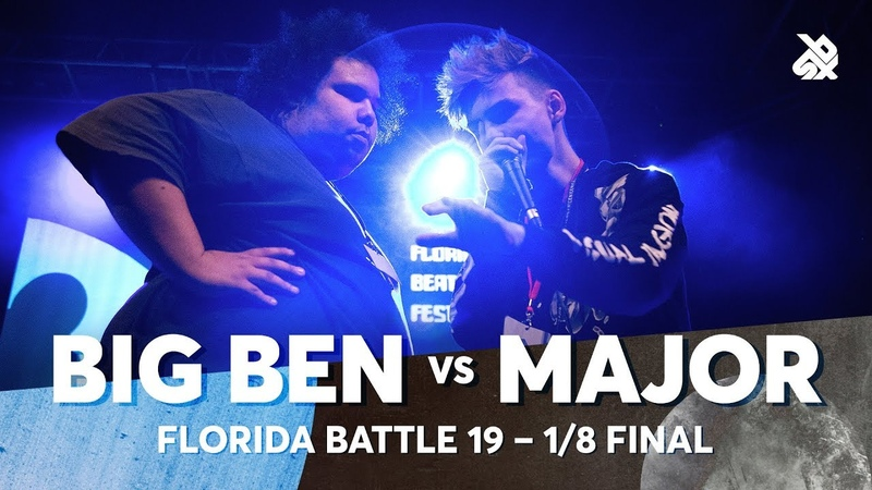 BIG BEN vs MAJOR | Florida Beatbox Battle 2019 | 1/8 Final