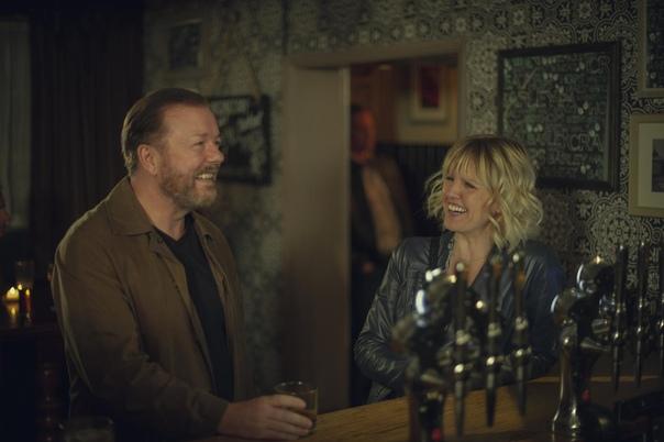 Кадры из второго сезона «After Life» с Рики Джервейсом