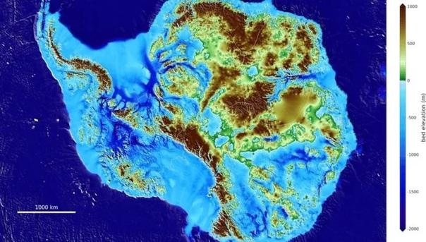 Учёные впервые представили миру подробную последнюю карту Антарктиды Команда гляциологов (специалистов, занимающихся изучением льда) смоделировала самую подробную, актуальную и точную на