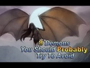 8 Demons You Should Probably Try To Avoid | Top 10 Earth