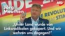 ❝Der Osten wählt blau ❞ Jörg Meuthen