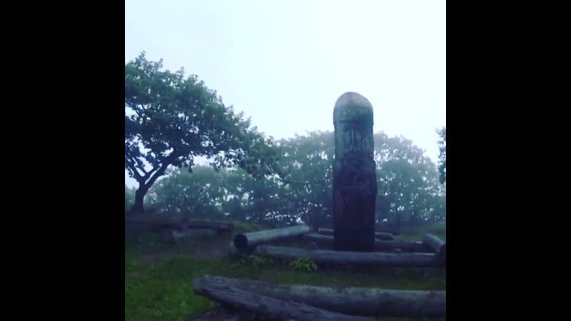 Огромное капище Перуна в лесу. Слава Роду