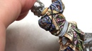 Painting a 54-mm Samurai Miniature with acrylics