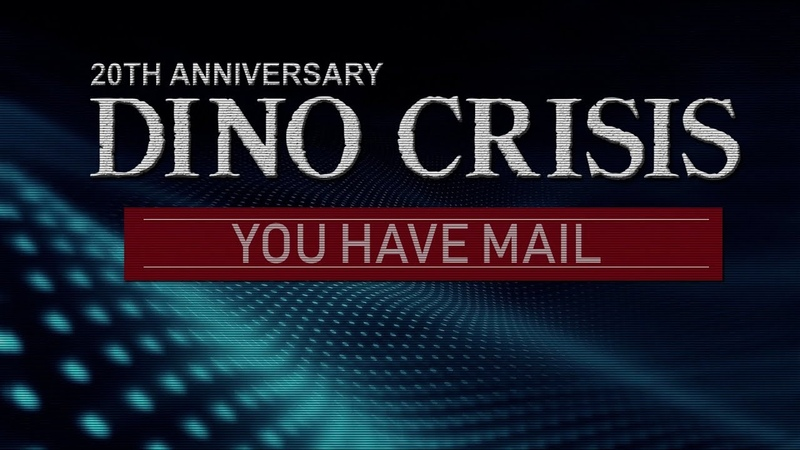 Dino Crisis Fan Made Proyect 2019 Initial report prototype You Have Mail