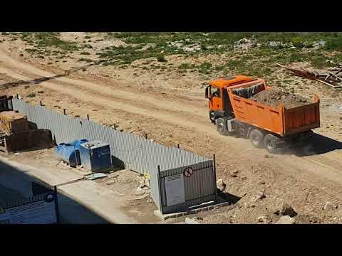 Уничтожение фисташковой рощи в Севастополе Апрель 2016г