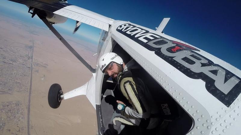 Skydiving AFF Course Jumps in Dubai Desert Campus 2018