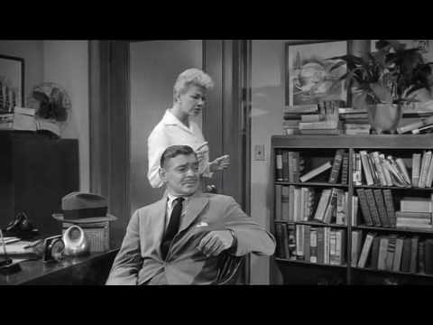 Doris Day Clark Gable 'Teacher's Pet' funny clip