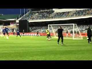 Paul pogbas goal in todays training... -